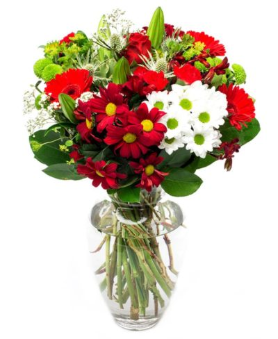 Red Flower Bouquet