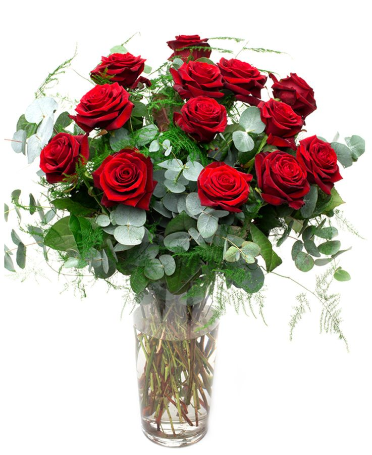 Long Stemmed Red Roses - Grand Prix