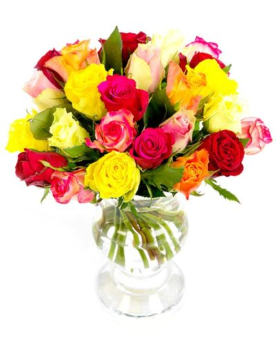 Weekly Flower Delivery –Roses - Medium Stemmed - Petite