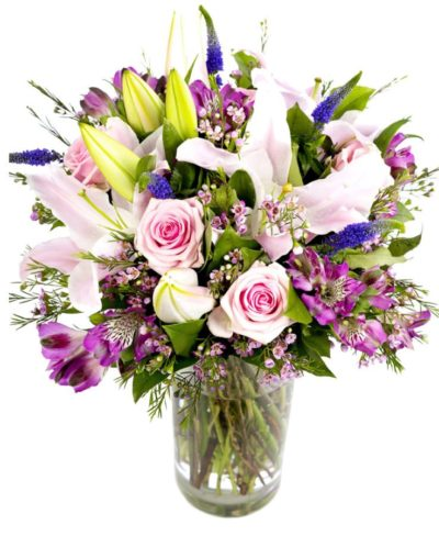 Subscription flowers - pinks