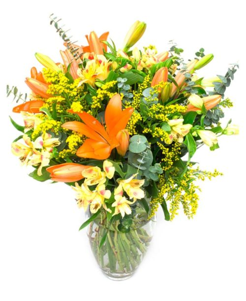 Mixed Flower Bouquet – Bright Subscription Flowers