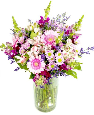 Subscription Flowers - creams, pinks & purples